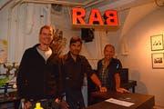 Die Rab-Bar in Trogen ist sozusagen das Original der Freitags-Bars. (Bild: Karin Erni)
