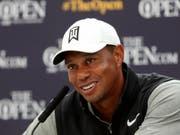 Tiger Woods zu den Olympischen Spielen 2020 in Tokio: «Das ist ein grosses Ziel von mir.» (Bild: KEYSTONE/AP/MATT DUNHAM)