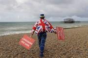 Wohin des Weges? In Grossbritannien scheint das im Moments niemand so ganz genau zu wissen. (Bild: Keystone)