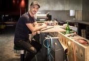 Erfahrung in der Gastrobranche sammelte Ljoki in der «Poco-Loco»-Bar. (Bild: Reto Martin)