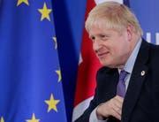Ist er vor der EU eingeknickt? Und bringt er seinen Brexit-Deal durch das Unterhaus? Für Premier Boris Johnson steht viel auf dem Spiel. (Bild: Stephanie Lecocq/EPA, Brüssel, 17. Oktober 2019)