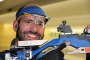 Der fünffache EM-Teilnehmer Martin Gyger erzielte 2004 als Junior mit Rang vier bis heute das beste Schweizer Luftgewehr-Resultat.