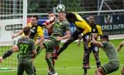 Der SC Brühl hat vergangenen Samstag gegen den Stade Nyonnais haushoch verloren. (Bild: SC Brühl - 12. Oktober 2019)