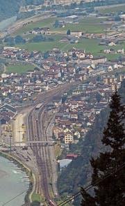 Erstfeld ist eine von vier Energiestädten im Kanton Uri. (Bild: Urs Hanhart, Erstfeld, 7. Juni 2018)