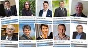 Auf der Webseite der IG Digital ist zu sehen, wie sich die Nationalratskandidatinnen und Nationalratskandidaten aus dem Wahlkreis Rorschach in den Sozialen Medien präsentieren und wie aktiv sie dabei sind. (Bildmontage: IG-Digital/rtl)