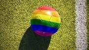 Auf Twitter kursiert derzeit ein kurioses Profil um einen angeblich schwulen Bundesligaspieler. (Bild: Shutterstock)