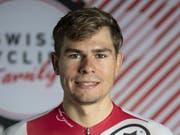 Stefan Bissegger fehlte in der Einzelverfolgung rund eine halbe Sekunde zu EM-Bronze (Bild: KEYSTONE/PETER SCHNEIDER)