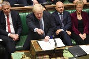 Kämpft weiterhin für einen Austritt am 31. Oktober: Der britische Premierminister Boris Johnson. (Bild: Jessica Taylor/UK Parliament)