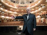 Stardirigent Daniel Barenboim hat am Samstag den Konrad-Adenauer-Preis der Stadt Köln erhalten. (Bild: KEYSTONE/AP dpa/BERND VON JUTRCZENKA)