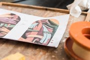 Vorlagen der Künstlerin Ara Starck, die in New York lebt.