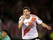 Ignacio Fernandez erzielte im Halbfinal-Hinspiel den zweiten Treffer für River Plate (Bild: KEYSTONE/EPA EFE/MATIAS NAPOLI ESCALERO)