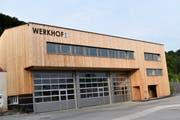 «Ein funktionales Gebäude für Bauamt, Wasserversorgung und Elektra», schreibt die Gemeinde über den neuen Werkhof. (Bild: pd)