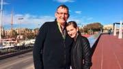 Vater und Tochter Messing. (Bild: NDR-Screenshot)