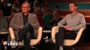 Messing mit dem Journalisten Kabisch am Dienstagabend bei Lanz. (Bild: ZDF-Screenshot)