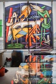 Die Kunsthandwerker von Engeler Glaswelt in Andwil konstruieren einmalige Glasarbeiten für das Studio von Philippe Starck in Paris.