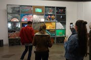 «Lion Lab» des Kollektivs LABOR Luzern ist die wohl auffälligste Arbeit der Ausstellung. (Bild: PD)
