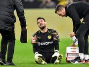 Verletzte sich beim 1:0-Sieg von Dortmund gegen Mönchengladbach am Knie: Roman Bürki (Bild: KEYSTONE/AP/MARTIN MEISSNER)