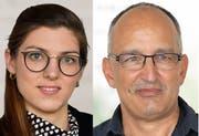 Franziska Ryser (Grüne) und Thomas Brunner (Grünliberale): Beide leben und politisieren in der Stadt St.Gallen. Beide wurden am Sonntag neu in den Nationalrat gewählt. (Bildkombi: Archiv St.Galler Tagblatt)