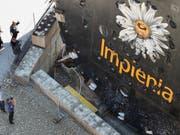 Veraison steigt bei Implenia aus: eine Tunnelbohrmaschine des Schweizer Baukonzerns (Archivbild). (Bild: KEYSTONE/GAETAN BALLY)