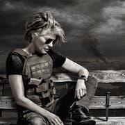 Fühlte sich in Hollywood immer wie ein Aussenseiter: US-Schauspielerin Linda Hamilton (63) als Sarah Connor . (Bild: Paramount Pictures)