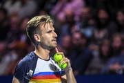 Peter Gojowczyk hatte gegen Roger Federer keine Chance. (Bild: Freshfocus)