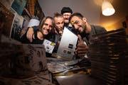 Dada Ante Portas mit dem Charts-Award.Bild: PD