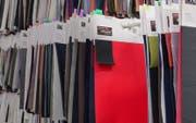 Textilmuster der Schoeller Textil AG (Bild: PD)