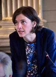 Bettina Surber, Co-Fraktionspräsidentin der SP-Grüne. (Bild: Regina Kühne)