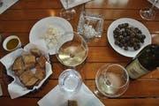 Albanische Köstlichkeiten (Quelle: Susi Schildknecht)