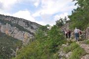 Schluchtenwanderung vom Dorf Pellumbas zur schwarzen Höhle (Quelle: Susi Schildknecht)