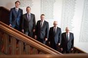Die Ausserrhoder Regierung: Kantonspolitiker wollen nun Taten sehen. (Bild: Benjamin Manser)