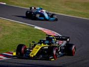 Renault (im Bild Fahrer Daniel Ricciardo) wird nachträglich in action during the Japanese Formula One Grand Prix in Suzuka, Japan, 13 October 2019. EPA/DIEGO AZUBEL (Bild: KEYSTONE/EPA/DIEGO AZUBEL)