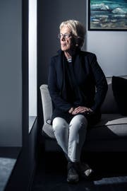 Carla Del Ponte, 72, hat als Kriegsverbrecher-Jägerin die dunkelsten Orte der Menschheit erkundet. Gleichzeitig stand sie im Licht der Weltpresse. (Bild: Samuel Golay, 21.10.2019, Locarno)