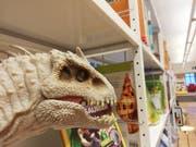 Auch grimmige Dinosaurier sind Teil der Filmwelten-Ausstellung. (Bild: PD)