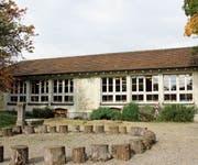 Der Kindergarten an der Bogenstrasse könnte saniert und erweitert werden oder einem Neubau weichen. (Bild: Sina Walser)
