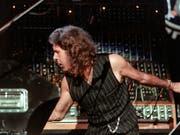 Der Musiker Keith Emerson wäre am 2. November 75 Jahre alt geworden: (Bild: KEYSTONE/PATRICK AVIOLAT)