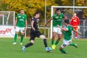 Die Brühler überzeugten diesmal auch in der Verteidigung und konnten so das Spiel bis am Schluss zu Null halten. (Bild: SC Brühl - 26. Oktober 2019)