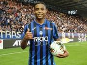Luis Muriel schoss drei Tore für Atalanta Bergamo (Bild: KEYSTONE/EPA ANSA/PAOLO MAGNI)