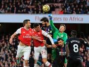 Granit Xhaka wird in seiner Rolle als Captain von Arsenal kritisiert (Bild: KEYSTONE/AP/LEILA COKER)