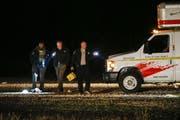 Behörden haben den Tatort abgesperrt. (Bild: AP/Keystone)