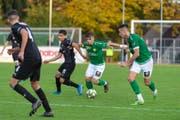Durch eine überzeugende Leistung in der zweiten Halbzeit schlug der SC Brühl am Samstag den FC Köniz verdient mit 3 zu 0. (Bild: SC Brühl - 26. Oktober 2019)