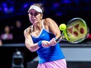 Belinda Bencic wird am Dienstag gegen Petra Kvitova antreten können (Bild: KEYSTONE/EPA/ALEX PLAVEVSKI)