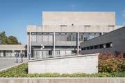 Das Hauptgebäude der Universität St.Gallen (HSG) auf dem Rosenberg. (Bild: Lisa Jenny - 4. Oktober 2019)