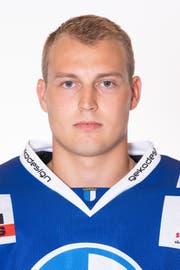 Cyril Niederhäuser, Verteidiger HC Luzern. Bild: Michael Wyss