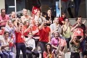 Rund 400 Fans sorgten in Sursee für tolle Stimmung. (Bild: Jakob Ineichen, Sursee, 26. Oktober 2019)