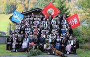 Eine prächtige Erinnerung für die Teilnehmer. (Bild: Otmar Näpflin, Wolfenschiessen, 27. Oktober 2019)