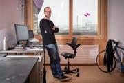 Jürgen Wössner ist Autodidakt und Quereinsteiger. Der Nachwuchs soll es künftig einfacher haben. (Bild: Urs Bucher)