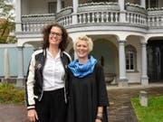 Ein Duo, das sich ergänzt: Graziella Contratto (links) und Barbara Betschart. (Bild: PD)