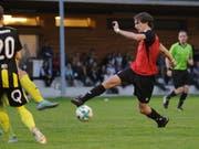 Robin Mahrow (am Ball) erzielte den 1:1-Ausgleichstreffer für den FC Schattdorf. (Archivbild: Urs Hanhart)