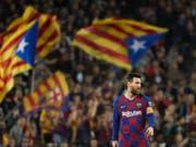 Lionel Messi war einmal mehr eine Klasse für sich (Bild: KEYSTONE/EPA EFE/ALEJANDRO GARCIA)